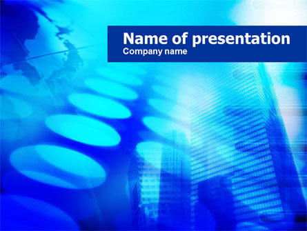 Theme Dotted PowerPoint Template
