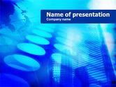 Abstract/Textures: Modèle PowerPoint de thème parsemé #00816