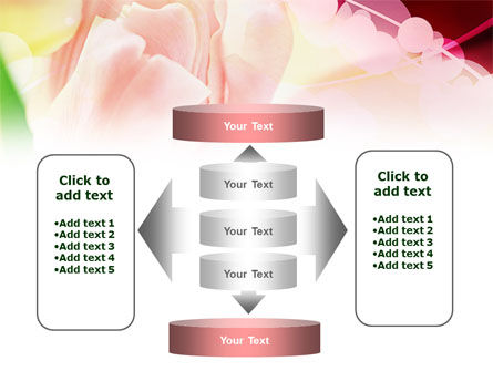 Light Pink Tulip PowerPoint Template Slide 13