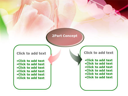 Light Pink Tulip PowerPoint Template Slide 4