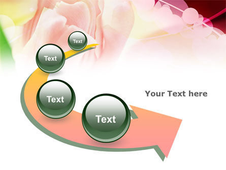 Light Pink Tulip PowerPoint Template Slide 6