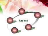 Light Pink Tulip PowerPoint Template#14
