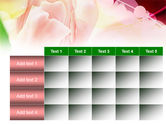 Light Pink Tulip PowerPoint Template#15