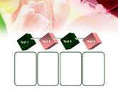 Light Pink Tulip PowerPoint Template#18