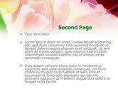 Light Pink Tulip PowerPoint Template#2