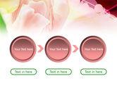 Light Pink Tulip PowerPoint Template#5