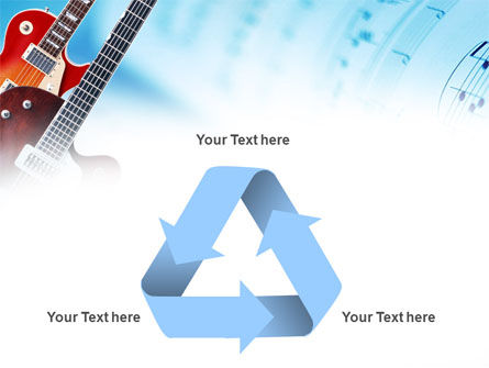 Playing Guitars PowerPoint Template Slide 10