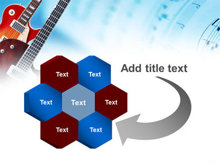 Playing Guitars PowerPoint Template Slide 11