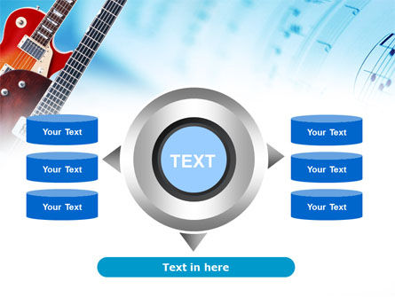 Playing Guitars PowerPoint Template Slide 12