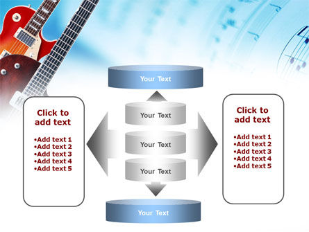 Playing Guitars PowerPoint Template Slide 13
