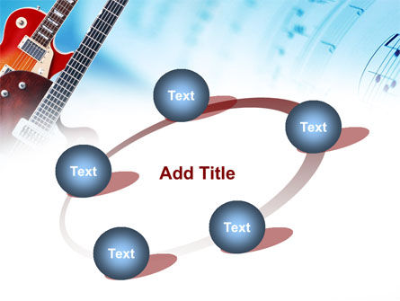 Playing Guitars PowerPoint Template Slide 14