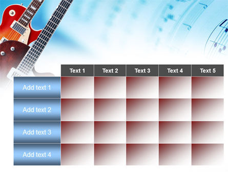 Playing Guitars PowerPoint Template Slide 15
