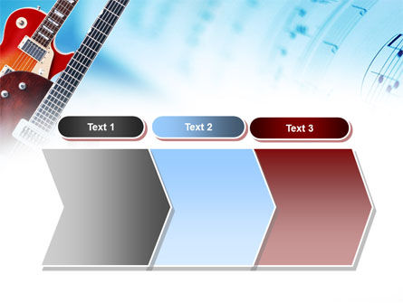 Playing Guitars PowerPoint Template Slide 16
