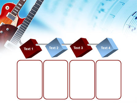 Playing Guitars PowerPoint Template Slide 18