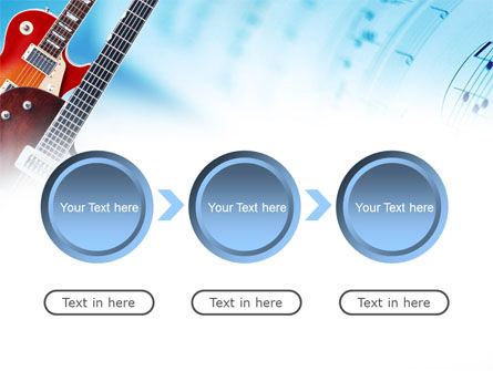 Playing Guitars PowerPoint Template Slide 5