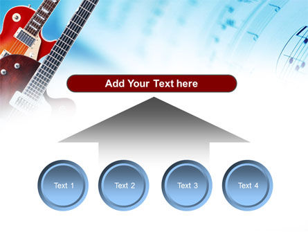 Playing Guitars PowerPoint Template Slide 8