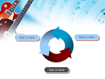 Playing Guitars PowerPoint Template Slide 9
