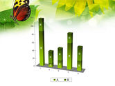 Butterfly On The Leaf PowerPoint Template#17
