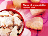 Food & Beverage: Cookies PowerPoint Template #00827