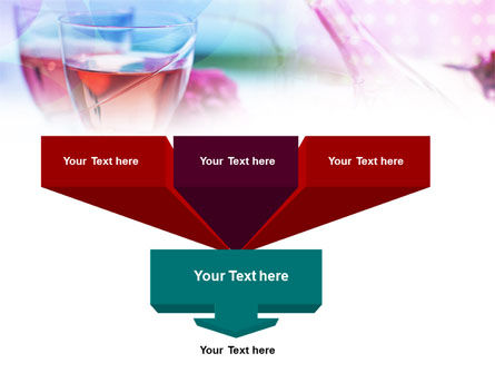 Pink Wine PowerPoint Template Slide 3