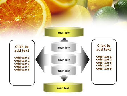 Lemons PowerPoint Template Slide 13