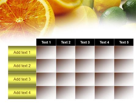 Lemons PowerPoint Template Slide 15