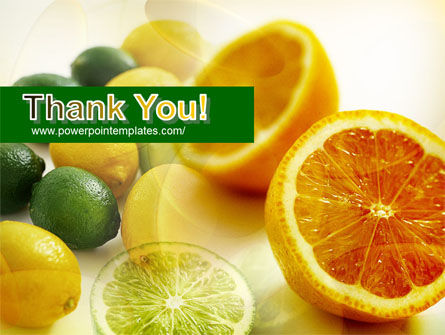 Lemons PowerPoint Template Slide 20