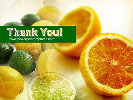 Lemons PowerPoint Template Slide 20