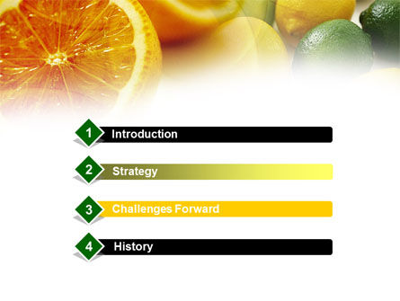 Lemons PowerPoint Template, Slide 3, 00829, Food & Beverage — PoweredTemplate.com
