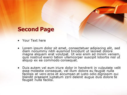 Copier PowerPoint Template, Slide 2, 00830, Education & Training — PoweredTemplate.com