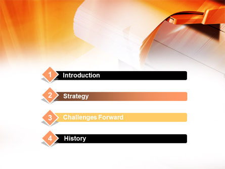 Copier PowerPoint Template, Slide 3, 00830, Education & Training — PoweredTemplate.com