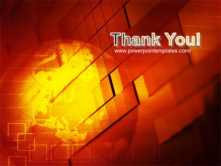 Red Global Theme PowerPoint Template Slide 20