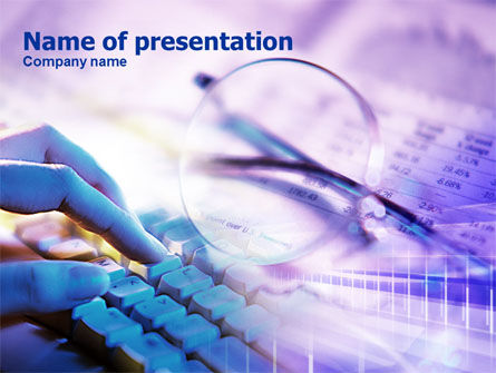 Inputting Data PowerPoint Template