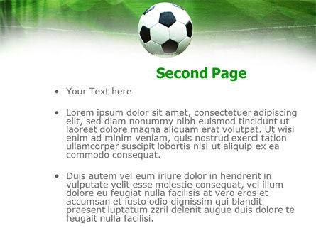 A Kick In Soccer PowerPoint Template Slide 2