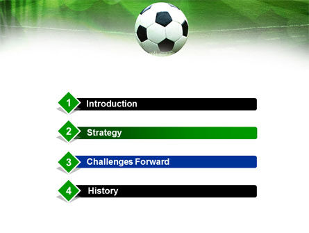A Kick In Soccer PowerPoint Template Slide 3