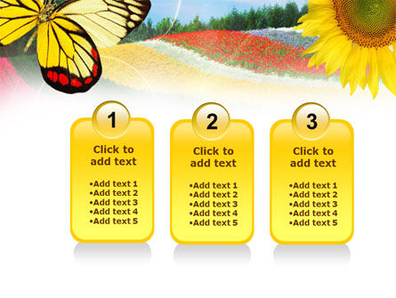 Butterfly PowerPoint Template Slide 16