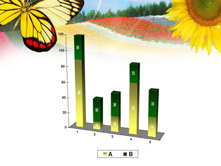 Butterfly PowerPoint Template Slide 17