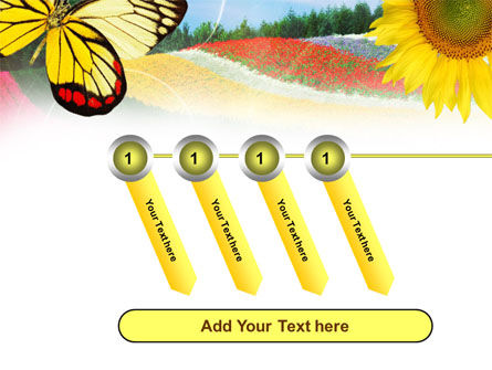 Butterfly PowerPoint Template Slide 18