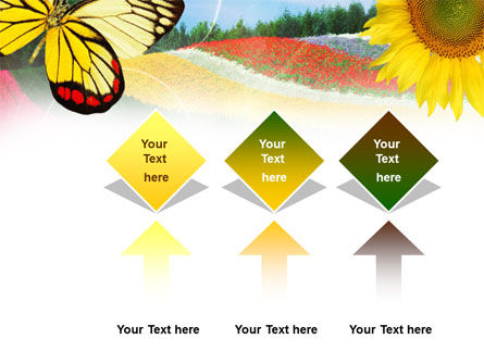 Butterfly PowerPoint Template Slide 5