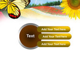 Butterfly PowerPoint Template#12