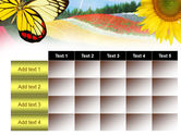 Butterfly PowerPoint Template#15
