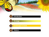 Butterfly PowerPoint Template#3