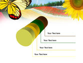 Butterfly PowerPoint Template#7
