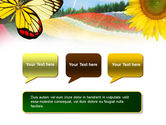 Butterfly PowerPoint Template#9