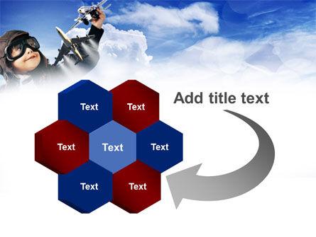 Little Pilot PowerPoint Template Slide 11