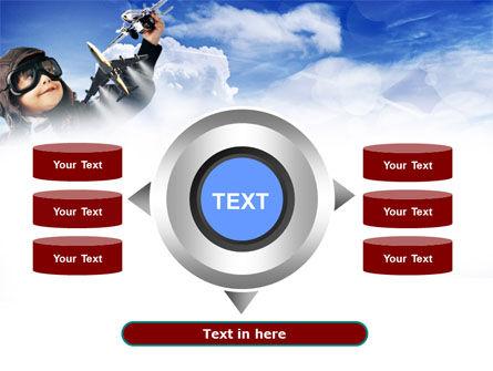Little Pilot PowerPoint Template Slide 12