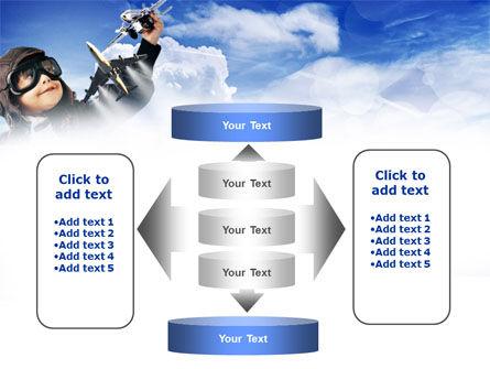 Little Pilot PowerPoint Template Slide 13