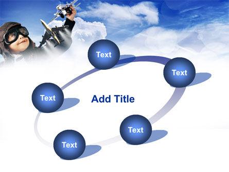 Little Pilot PowerPoint Template Slide 14