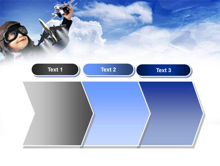 Little Pilot PowerPoint Template Slide 16
