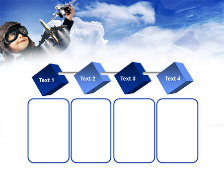 Little Pilot PowerPoint Template Slide 18
